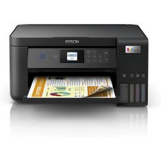 Imagem de Impressora Multifuncional Sem Fio Epson Ecotank L4260 Jato de Tinta Colorida