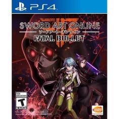 Jogo Sword Art Online Fatal Bullet PS4 Bandai Namco