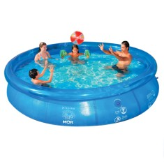 Piscina Inflável 14.000 l Redonda Mor Splash Fun 1063
