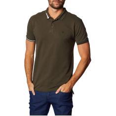Imagem de Forum Camisa polo Tradicional Masculino, P, Verde Gaffa