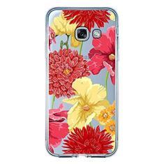 Imagem de Capa Personalizada Samsung Galaxy A5 2017 - Floral - TP35