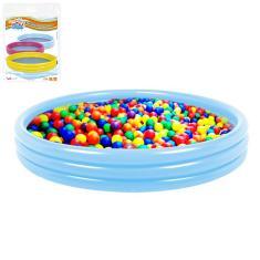 Imagem de Piscina de bolinhas infantil 28L com 50 bolinhas