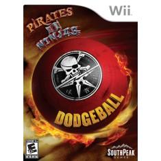 Jogo Pirates vs Ninjas Dodgeball Wii SouthPeak Games