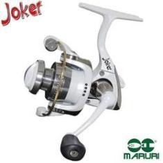 Imagem de Molinete Maruri Ultra Light Joker Milo Branco Com 4 Rolamentos