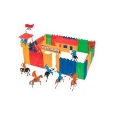 Imagem de Forte Apache Kids - Maleta Batalha Infantil - Peças Coloridas - Gulliver