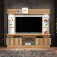 Imagem de Estante para Home Theater e TV até 60 Polegadas Salvador Carvalho e Off White