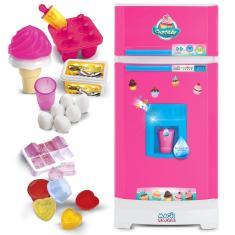 Imagem de Geladeira Infantil Cupcake Com Som Luz E Acessórios - Magic Toys
