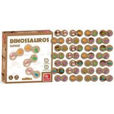 Imagem de Domino Dinossauro Brincadeira De Criança