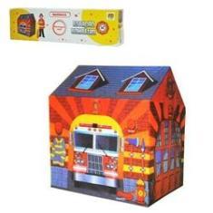Imagem de Barraca | Casinha | Cabana | Tenda | Infantil | Brinquedo | Portátil | - Menino Bombeiro