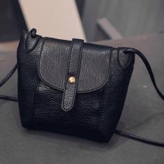 Imagem de Mulheres Moda Sólidos de couro cor pu Messenger Bag Casual Feminino Crossbody Bag-Newone