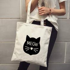Imagem de ²nico Shoulder Bag Feminino Zipper Compras Ambiental Bag Estudante Bag