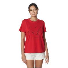 Imagem de Camiseta Estampada Colcci, Feminino,  Ife, G