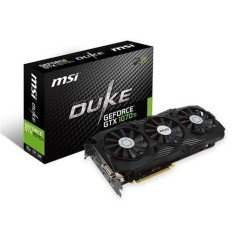 Placa de Video NVIDIA GeForce GTX 1070 Ti 8 GB GDDR5 256 Bits MSI GTX-1070-Ti-DUKE-8G