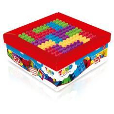 Imagem de Blocos De Montar Tand Kids Super Caixa 120 Peças - Toyster