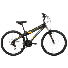 8ad4f5aaf Foto Bicicleta Mountain Bike Caloi 21 Marchas Aro 26 Suspensão Dianteira  Freio V-Brake TRS