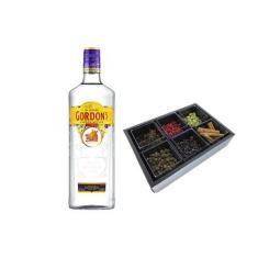 Gin Gordons + Kit Gin Tonica Essencial com 6 especiarias