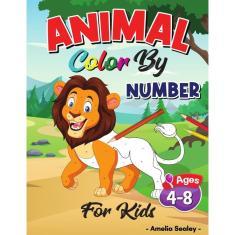 Imagem de Animal Color by Number for Kids