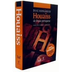Novo Dicionário Houaiss da Língua Portuguesa - Inclui CD-ROM Completo - Com a Nova Ortografia - Houaiss, Antonio - 9788573029635