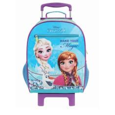 Imagem de Mochila com Rodinhas Escolar Dermiwil Disney Frozen Effect G 30191