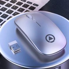 Imagem de Mouse sem fio recarregável, mouse sem fio LED