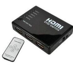 Imagem de Chaveador Hdmi Switch 5x1 V.1.4 C/Controle Remoto
