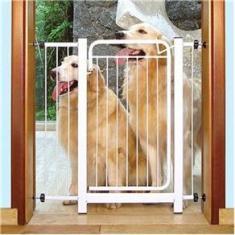 Imagem de Grade De Proteção para Pet Cães Para Portas Portão até 80cm