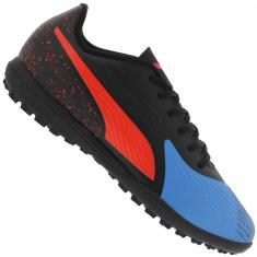 Chuteira Society Puma One 19.4 Adulto