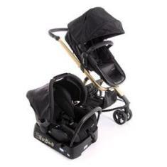Imagem de Travel System Mobi Trio Ed Especial Safety 1st - Black Gold