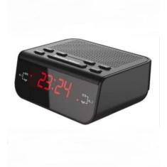 Imagem de Rádio Relógio Despertador Digital De Mesa Lelong Le-671 Am Fm