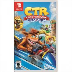 Jogo Crash Team Racing Nitro Fueled Activision Nintendo Switch