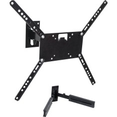 "Suporte para TV LCD/LED/Plasma Parede Articulado 10"" à 56"" Multilaser SuperHD Combo"