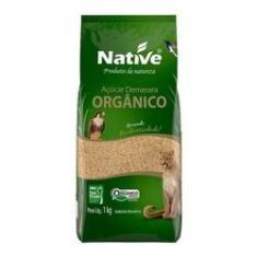 Imagem de Açúcar Demerara Orgânico Native 12 Pacotes 12 Kg