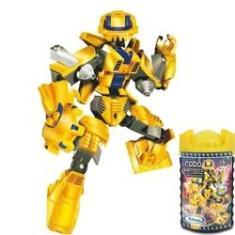 Imagem de Bloco de Montar Robo Guerreiro Yellow Armor 57 Peças - Xalingo