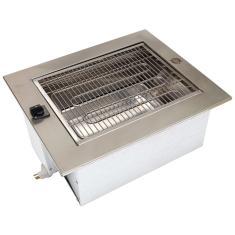 Imagem de Churrasqueira De Embutir Elétrica 110/ Aço Inox-Prática