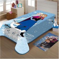 Imagem de Cobertor Jolitex Solteiro Frozen Disney Raschel Plus 1,50x2,00m