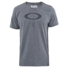 Imagem de Camiseta Oakley O Rec Ellipse Tee Grafite