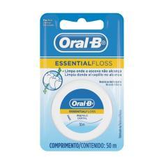 Imagem de Fio Dental Encerado Oral-B Essential Floss com 50 metros 50 Metros