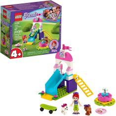 Imagem de LEGO Friends Puppy Playground 41396 Kit de construção inicial; Melhor brinquedo animal com LEGO Friends Personagem Mia, Nova 2020 (57 Peças)