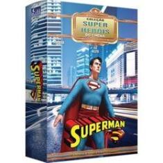 Imagem de Box Superman Coleção Super Heróis Do Cinema 15 Episódios 02 Dvs