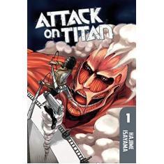 Attack on Titan 1 - Capa Comum - 9781612620244
