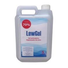 Álcool Gel 70% Anti-séptico 5 LITROS