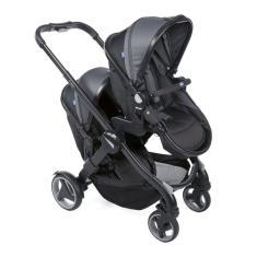Imagem de Carrinho De Bebê Para Gêmeos Fully Twin Stone - Chicco