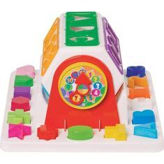 Imagem de Brinquedo Educativo Bebê Girababy Encaixe 18 Peças Mercotoys