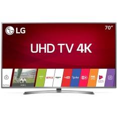 """Smart TV LED 70"""" LG 4K 70UJ6585 4 HDMI"""