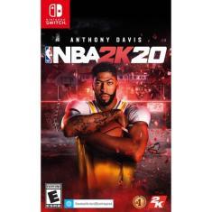 Jogo NBA 2K20 2K Nintendo Switch