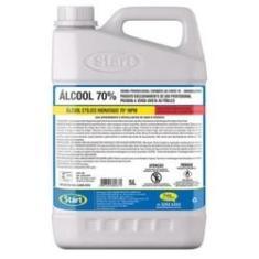 Alcool 70% Liquido Start 5L