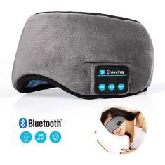 Imagem de Máscara Para Dormir Musical Com Fone Bluetooth