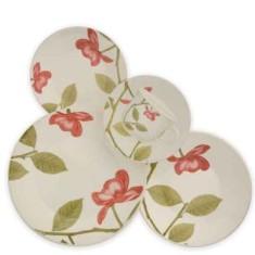 Aparelho de Jantar Redondo de Cerâmica 30 peças - Beauty Biona
