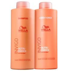 Imagem de Kit Shampoo E Condicionador Invigo Nutri-Enrich Wella