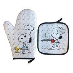 Imagem de Luva Térmica Para Forno Snoopy Chefe Presente Criativo Geek
